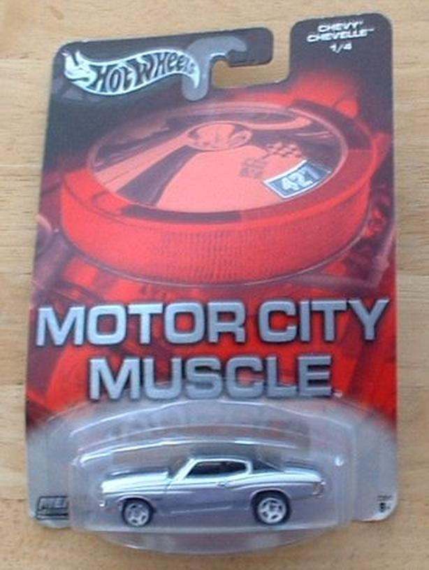 HOT WHEELS MOTOR CITY MUSCLE 1970 CHEVY CHEVELLE