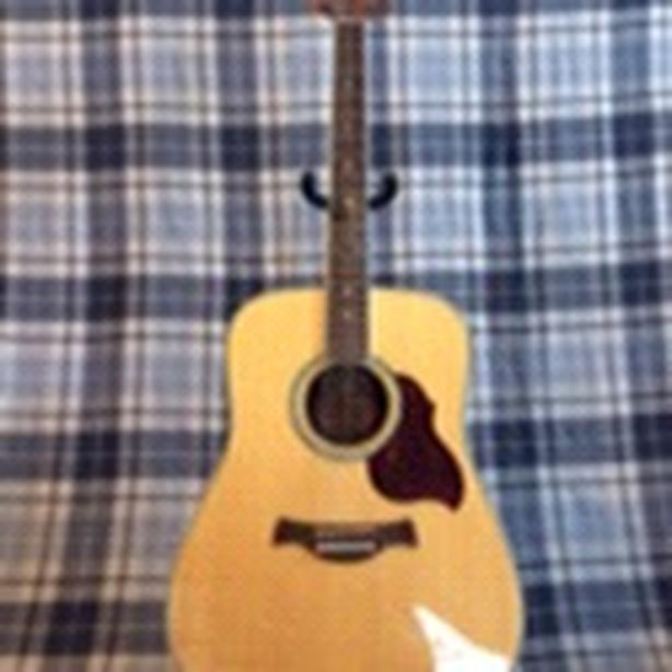 Crafter dreadnaught acoustic guitar