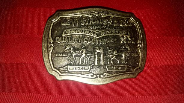 Brand New Large Levis Belt Buckle