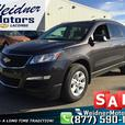 2016 Chevrolet Traverse LS AWD 8 Passenger *Back up Camera, Bluetooth*