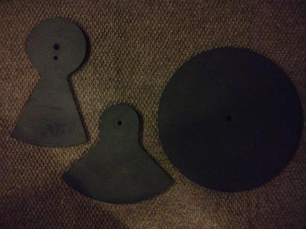 Practice Pads For Cymbals and Hi Hats