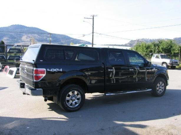 2012 F150 CREW CAB 4X4 WITH LEER CAP WITH FULL WARRANTY
