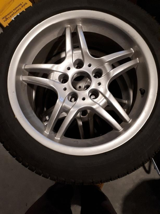 Almost new michelin x-ice 17 inch  tires and rims