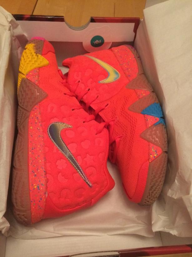 """low priced 1be1f 6fa3e  Log In needed $90 · Nike Kyrie 4 """"Lucky Charms"""" size 6.5 basketball shoes"""