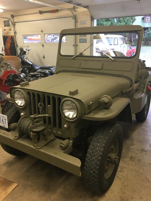 1946 willys jeep manual