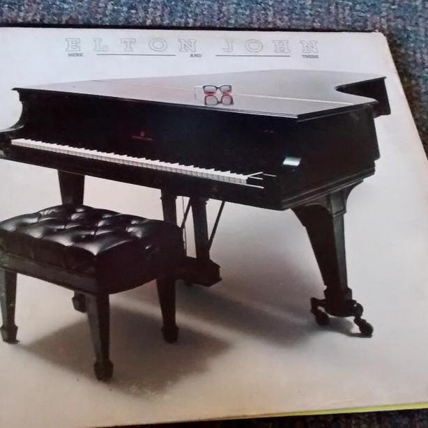 ELTON JOHN LP RECORD FAIR CONDITION