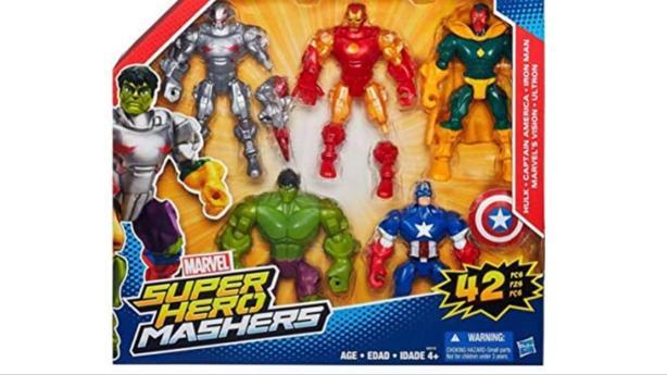 WANTED: Super Hero Mashers