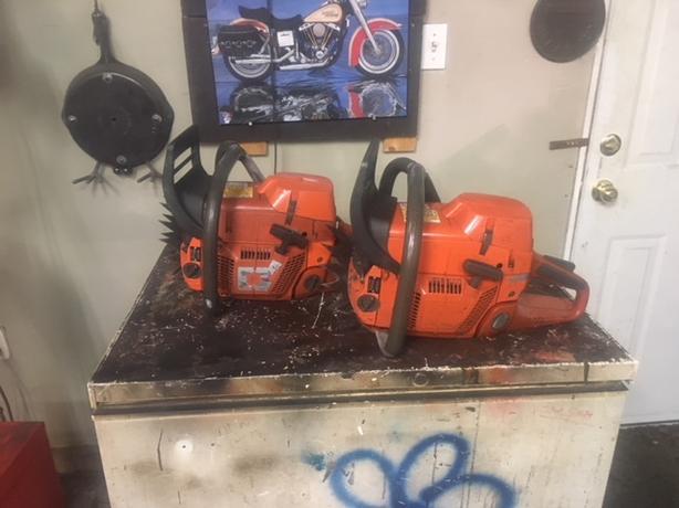 Log In needed $500 · Husqvarna 390xp chainsaws