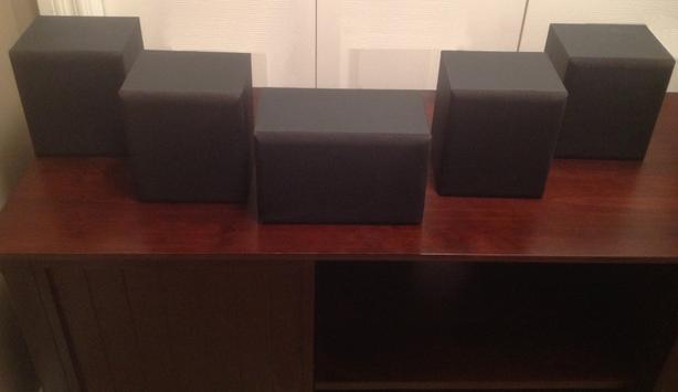 5 cinema speaker set
