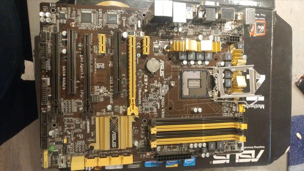 ASUS Z87-A, LGA 1150, Motherboard - Modded BIOS (M 2 Support