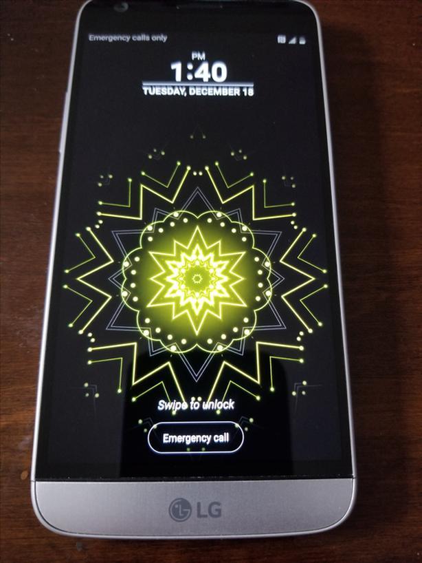 LG G5 32G SILVER UNLOCKED