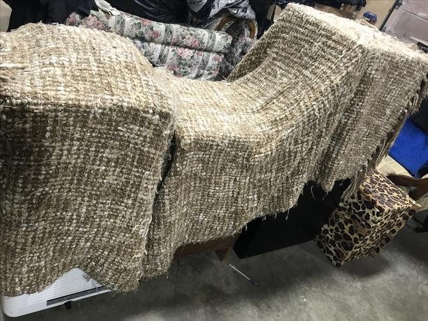 Really soft , fringed couch /bed throw blanket