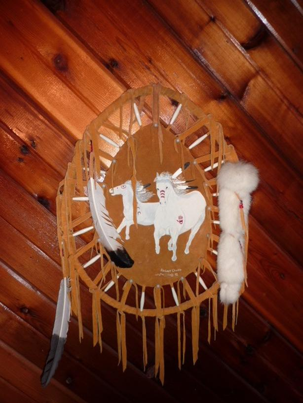 Moose hide Dreamcatcher