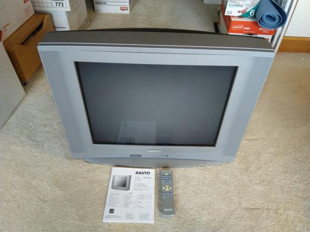 FREE: Sanyo 24-inch CRT TV