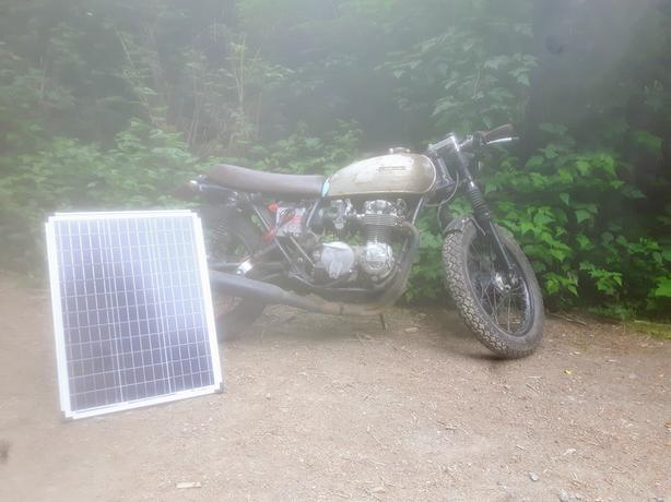 FOR-TRADE: 1974 cb550 for a XL600