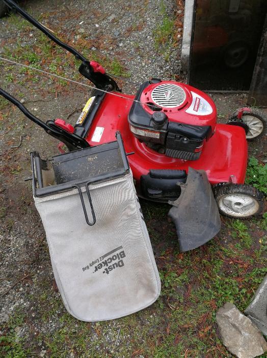 Gas Lawn Mower Reduced Saanich Victoria