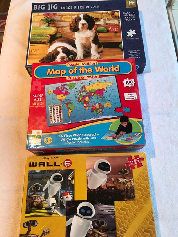 3 Jig-Saw Puzzles (one is NEW)
