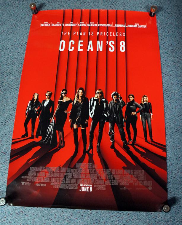 Ocean's 8 Movie Poster 27x40 Original Double Sided 2018