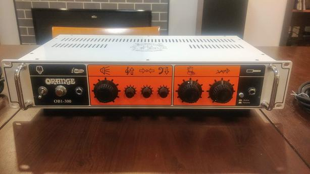 PRICE DROP! - Orange OB1 300 Watt Bass Amp with footswitch