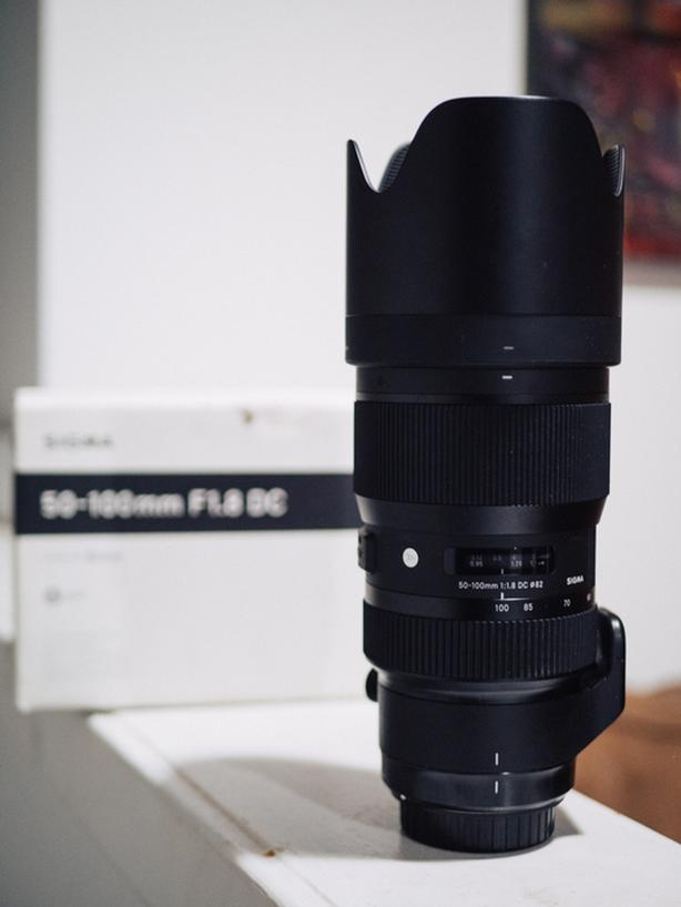 Sigma 50-100 f/1.8 (EF mount)