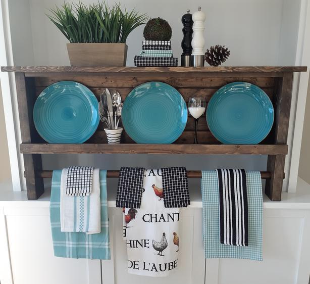 Farmhouse Storage Shelf
