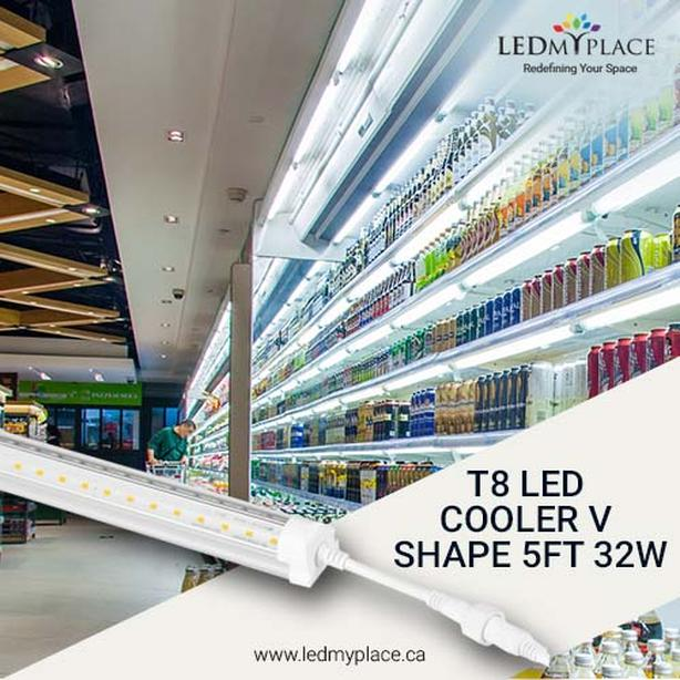 LED Cooler Light,The Best option for interiors or stores.