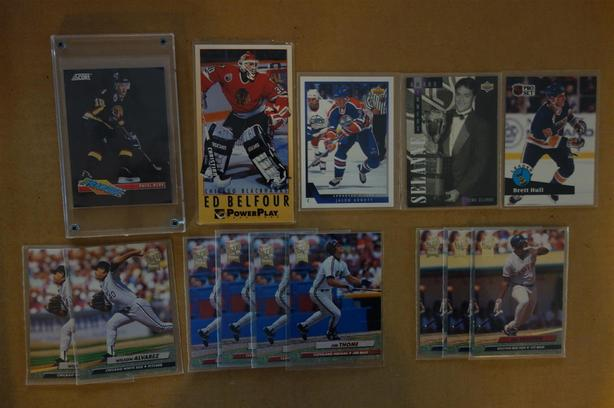 Various Hockey And Baseball Cards Saanich Victoria
