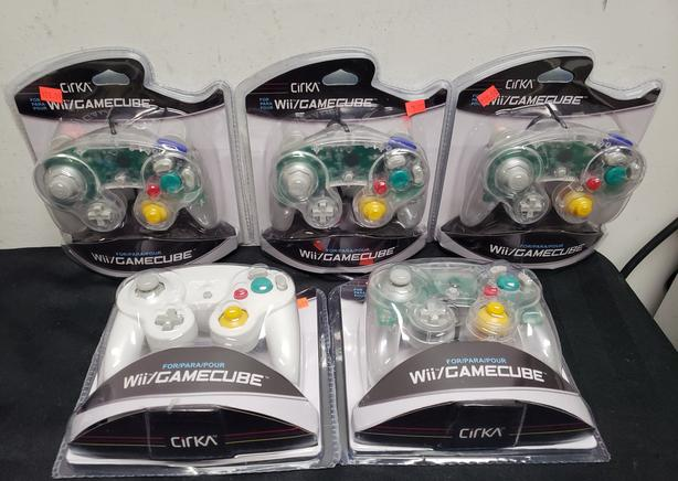Brand New Third Party GameCube Controllers
