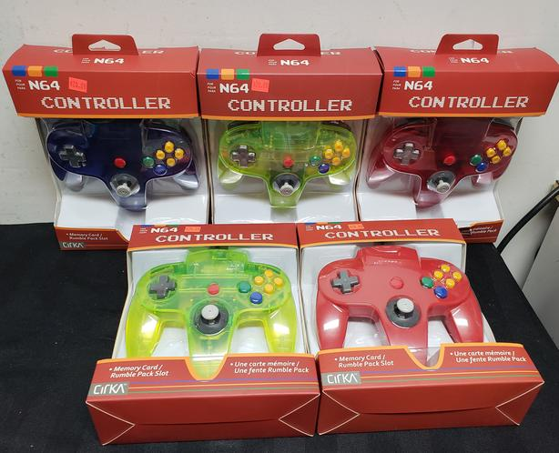 Brand New Third Party N64 Controllers