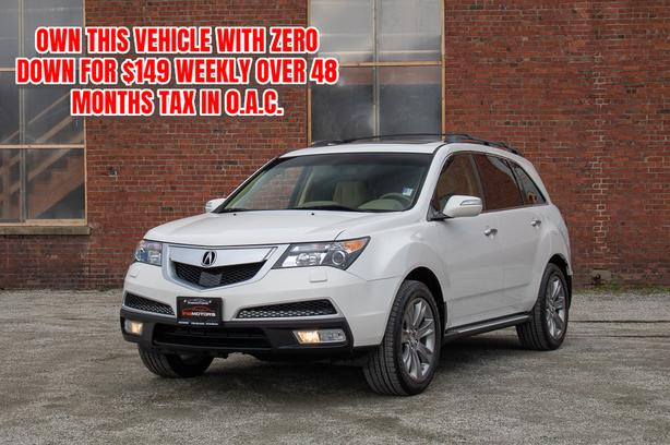 2012 Acura MDX Elite Pkg AWD 7-Passenger - ON SALE! - NAVIGATION!