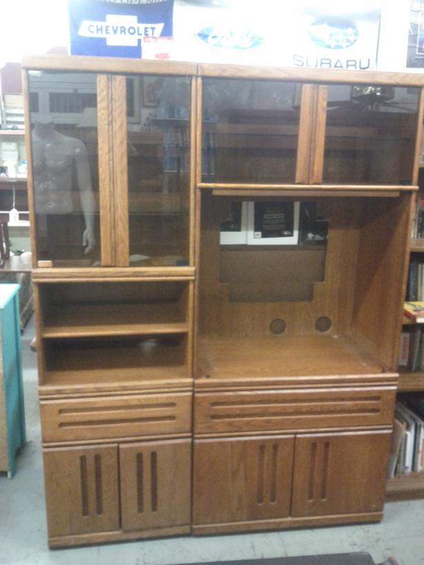 Pair of Wall Units (The Thin Unit Sold)