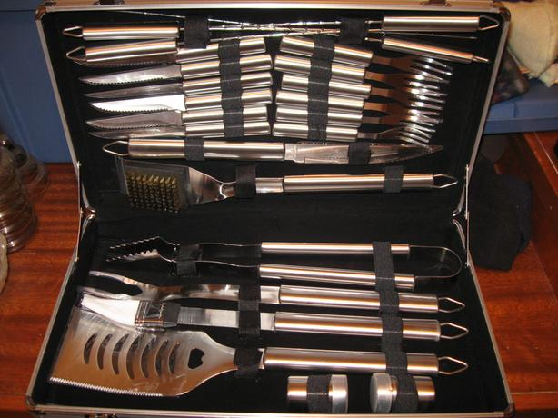 Barbecue set for sale