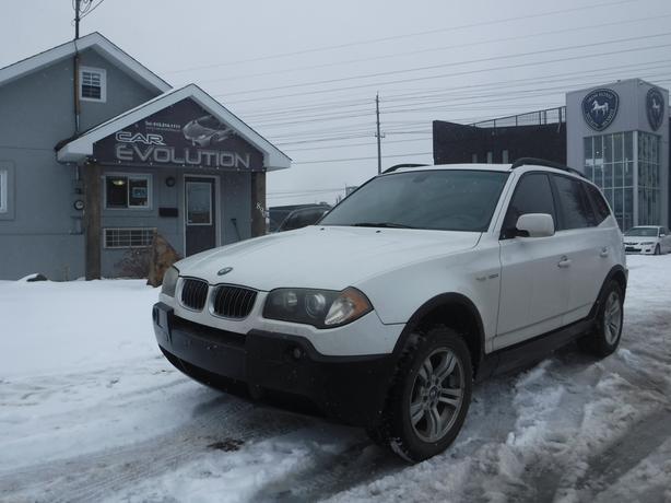2005 BMW X3 3.0i EXTRA CLEAN LOADED UNIT ! CERTIFIED+WRTY $5990