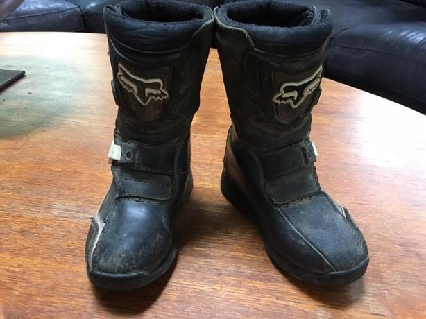 Fox Comp 5k boots size 13