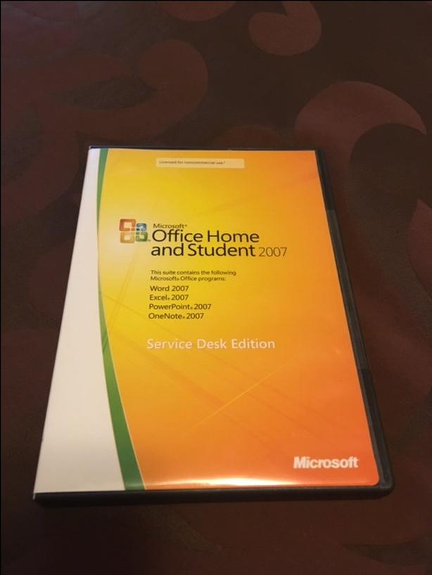 office 2007 product key home and student