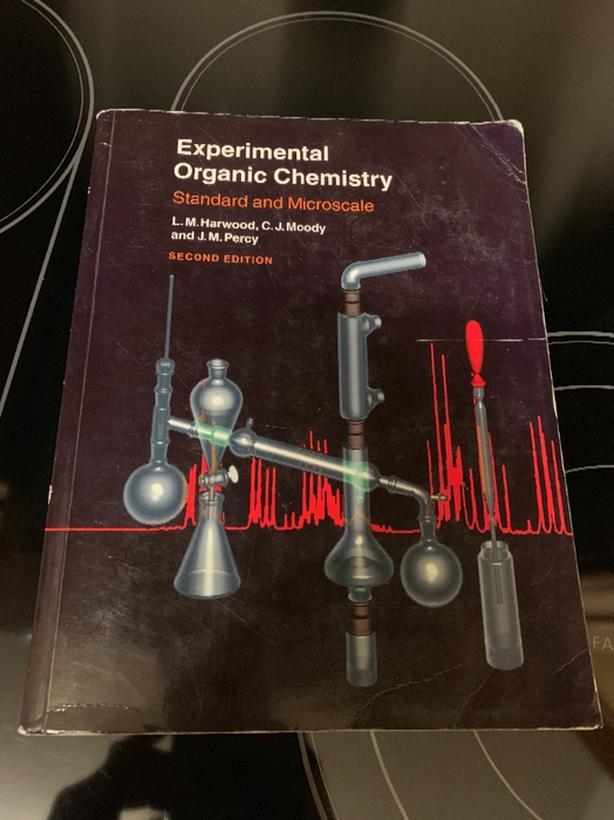 Experimental Organic Chemistry by Harwood / Moody / Percy