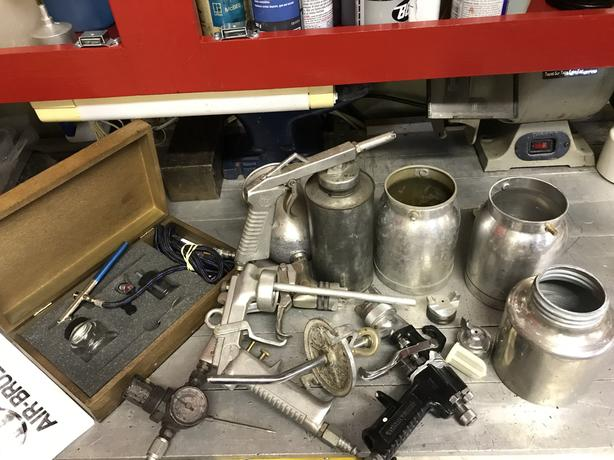 Automotive painting equipment