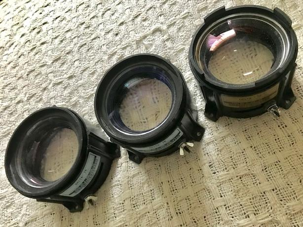 3 Projector Lenses