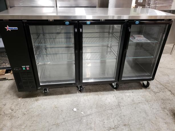 NEW Commercial Back Bar Coolers - Showroom Auction