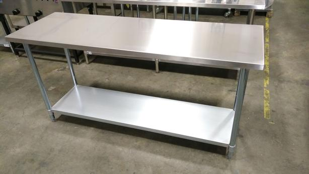 NEW Stainless Steel Tables, Shelving, Stands - Auction Liquidation