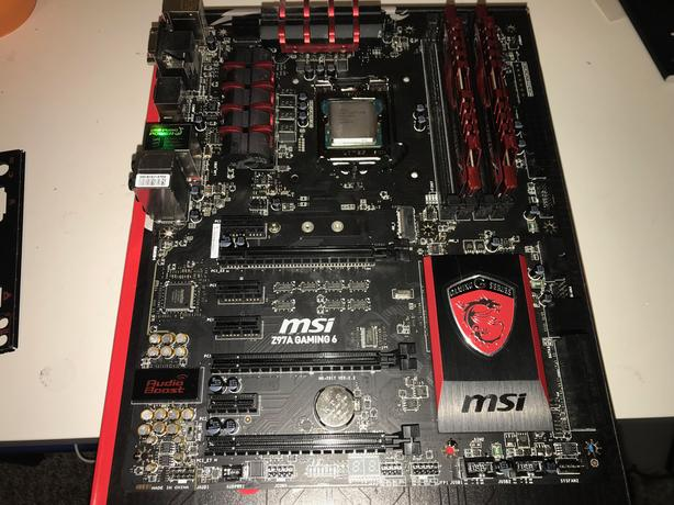 i5-4690k + motherboard + memory Esquimalt & View Royal, Victoria