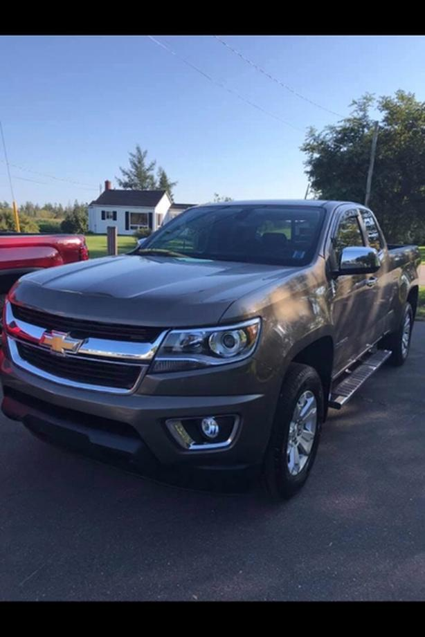 2016 CHEVROLET COLORADO EXT CAB 4X4 !! HEATED LEATHER SEATS !!