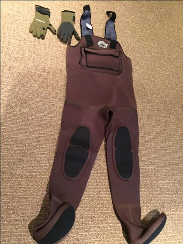 BARE:  Chest Waders