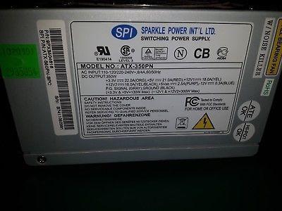 SPI Sparkle ATX-300PN 9PX3009713 300W Switching Power Supply