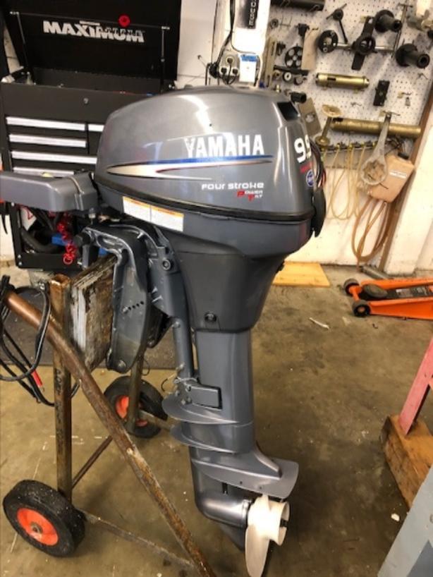 2000 Yamaha T9 9 Central Nanaimo  Nanaimo