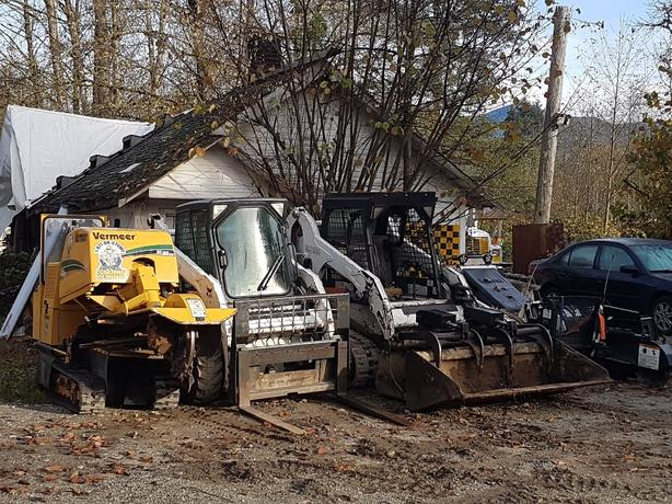 Stump Removal and bobcat service