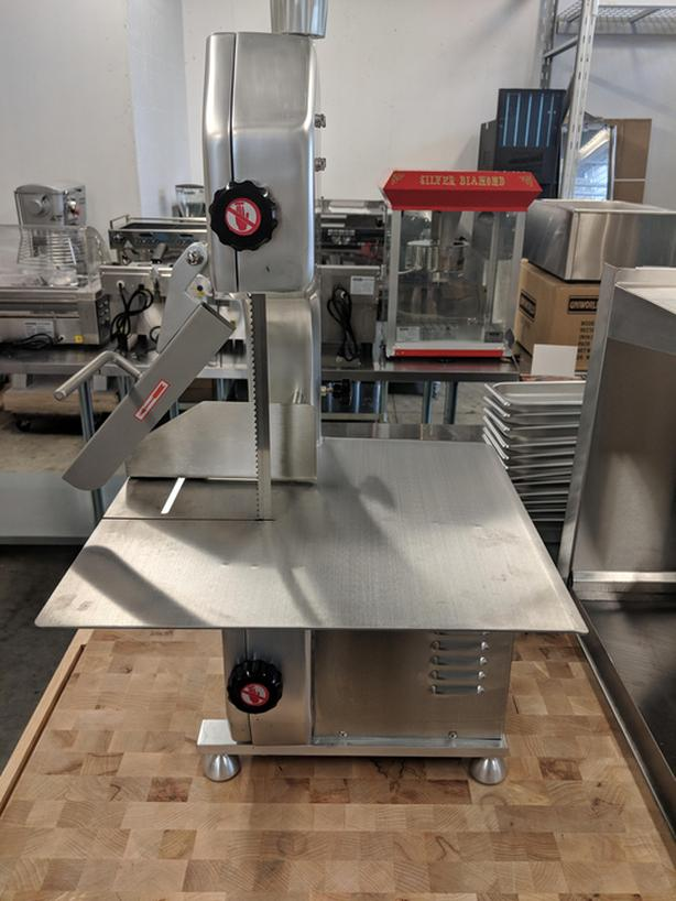 Meat Equipment Auction – Butcher Blocks, Slicers, Saw & Knives