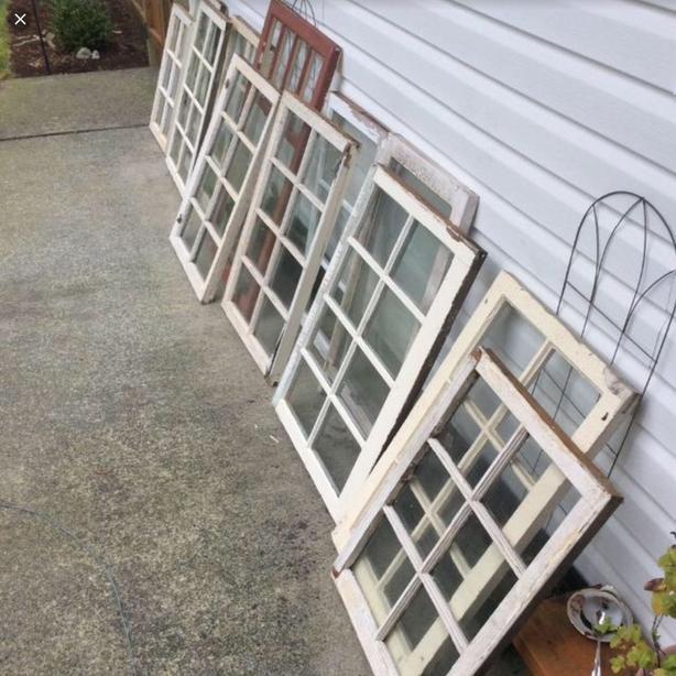 WANTED: vintage multi pane wood windows
