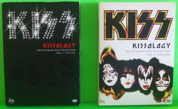 KISS - KISSOLOGY VOL .1 & 3