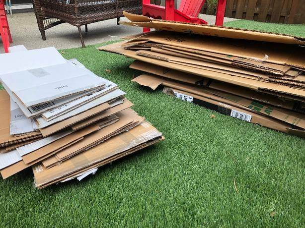 FREE: cardboard boxes great for moving